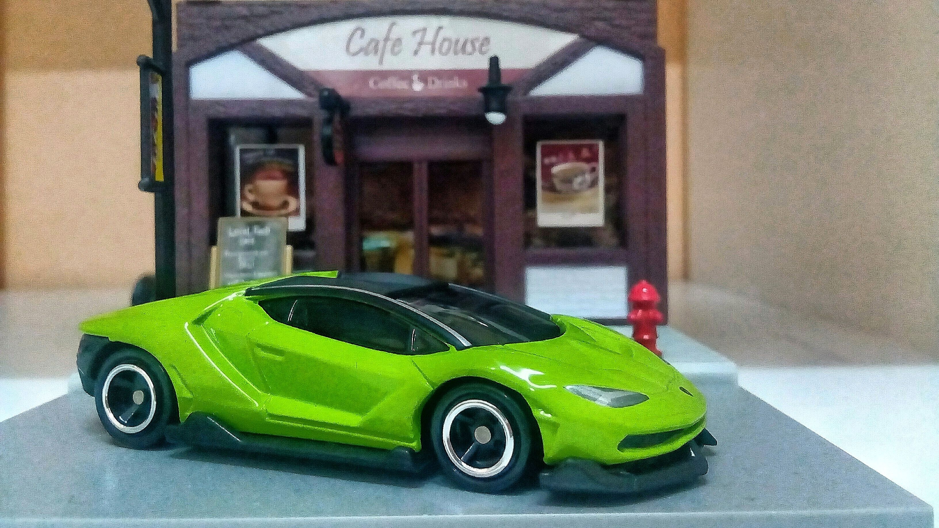 Lamborghini Centenario Tomica My Hot Wheels Collections