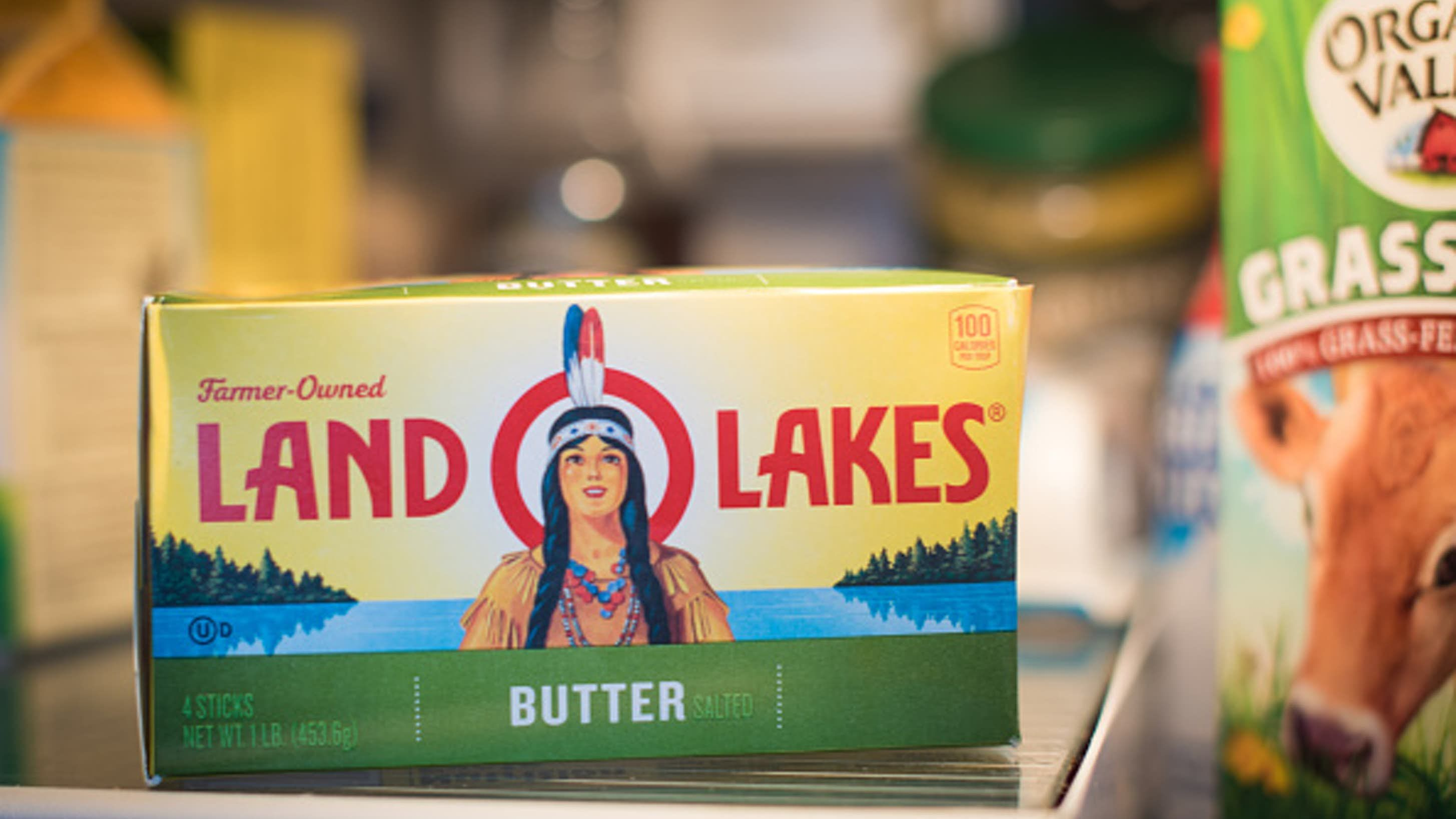 Vintage Land o'Lakes Wooden Bank 1979 Sweet Cream Butter