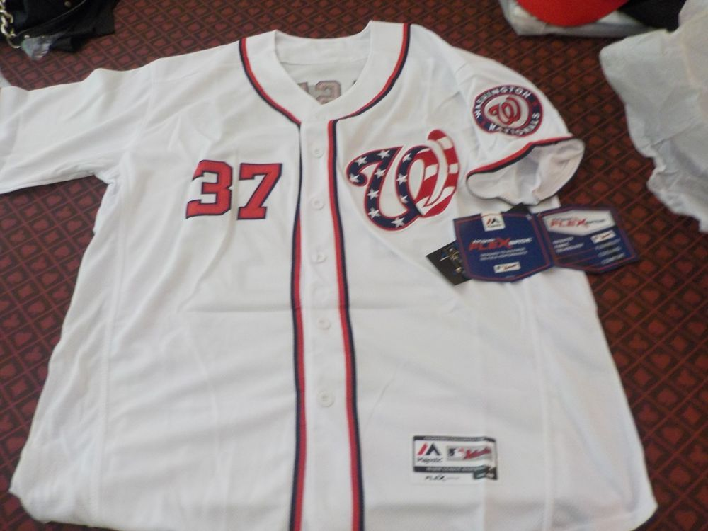 b8c12390a Stephen Strasburg Washington Nationals Majestic MLB Baseball Jersey Mens  Sewn   60.00 (0 Bids) End Date  Saturday Oct-20-2018 10 41 40 PDT…