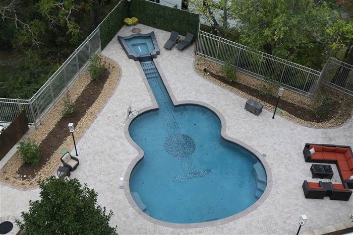 John Rich Gives Us A Tour Of His Home With A Guitar Shaped Pool