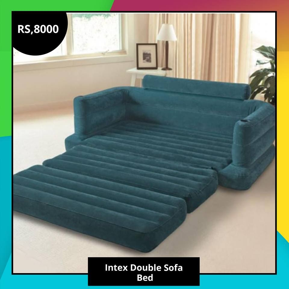 Intex double sofa bed sycamore rs click deals