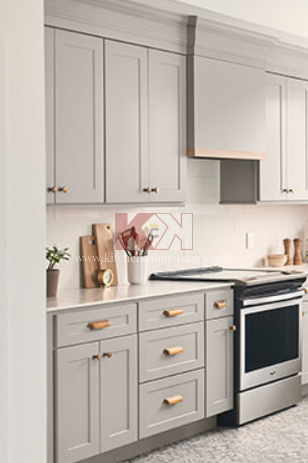 American Made Bowery Pewter Kitchen Cabinets In 2020 Assembled Kitchen Cabinets Kitchen Cabinets Kitchen Remodel