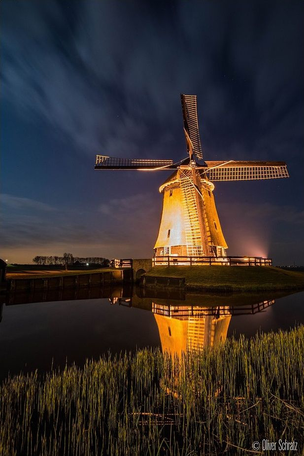 Photograph Golden Windmill by Oliver Schratz on 500px