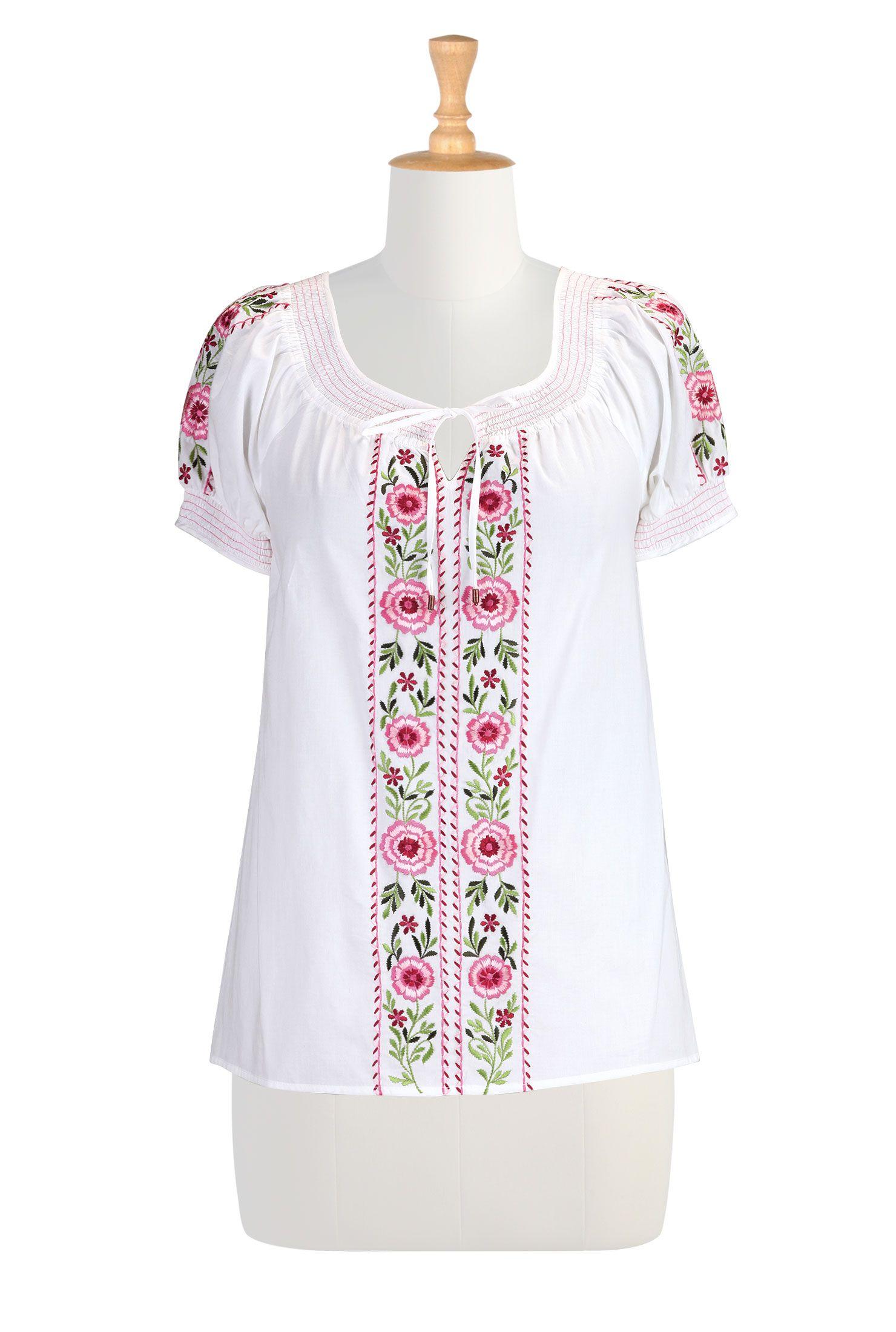 3273e69dc12 Women's designer clothing - Shop Women's Long Sleeve Tops - Tunic Tops, Ladies  Tops, Fashion Tops, Plus Size Tops - | eShakti.com