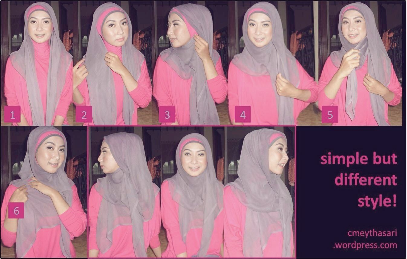 1000 Images About Hijab Tutorial On Pinterest Simple Hijab