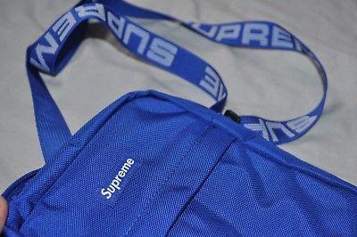 5a11d41d0d Supreme Side bag Blue One size FW18 Summer Shoulder Small (eBay Link ...