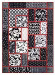 Big Block quilt pattern...a great way to showcase some beautiful ... : sew big quilt blocks - Adamdwight.com