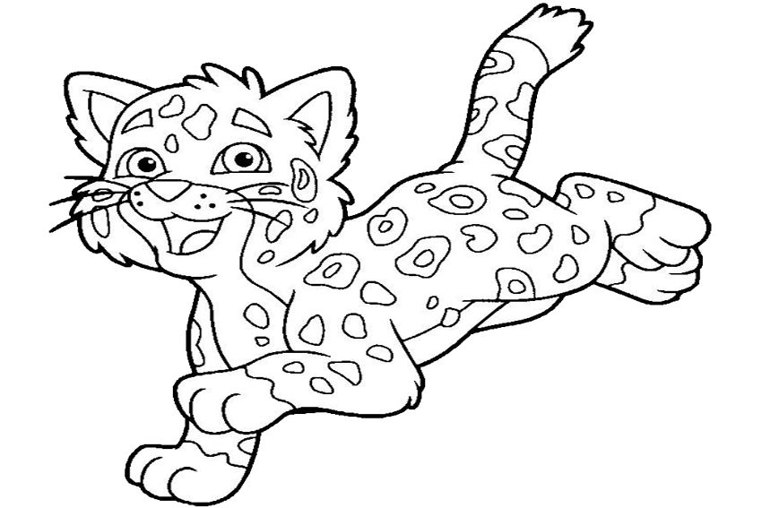 Jaguar Coloring Pages Best Coloring Pages For Kids Zoo Animal Coloring Pages Coloring Pages For Kids Deer Coloring Pages