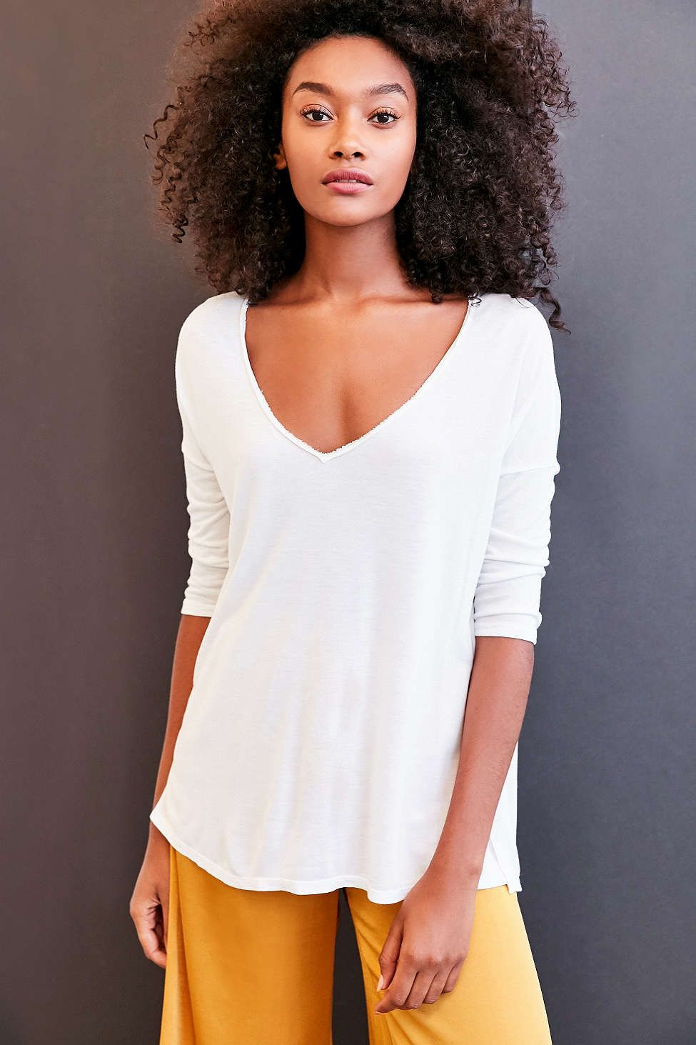 Project Social T Sapphire 3 4 Sleeve Dolman Tee Project Social T Tees Pullover Tee