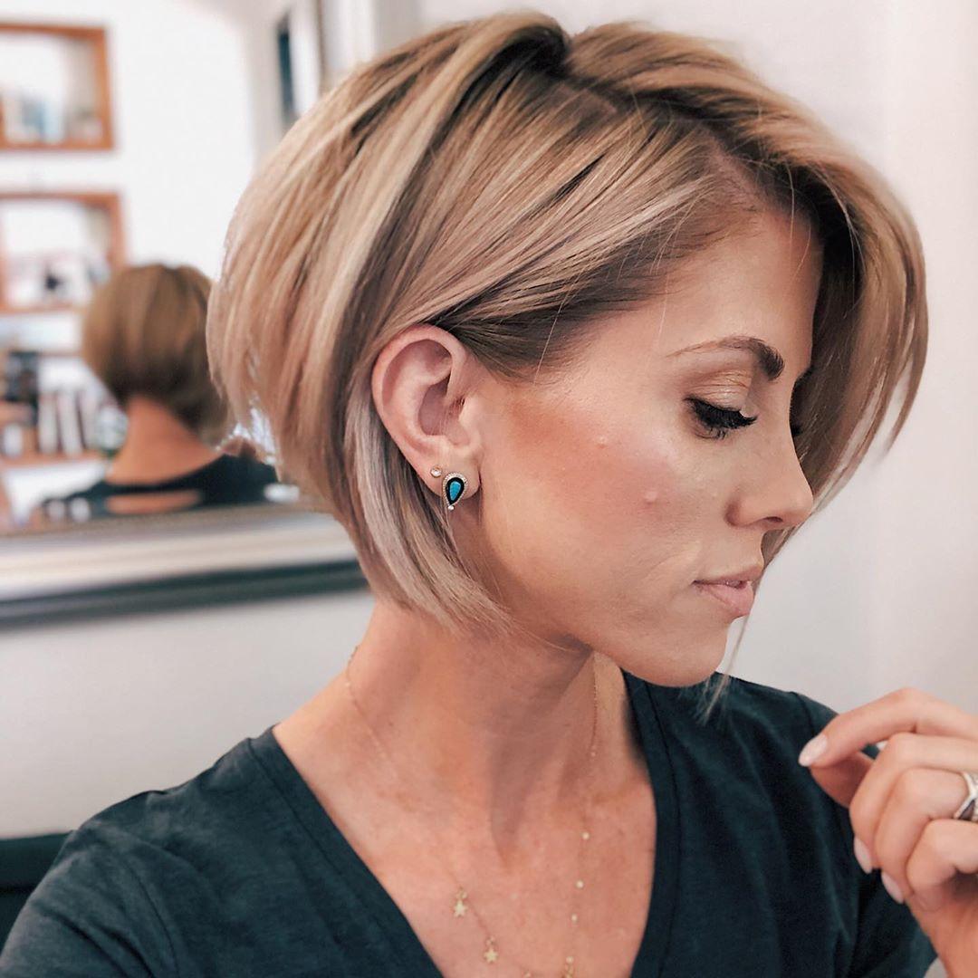 Trendy Haircuts And Hairstyles For Short Hair 2020 82 Photos Kapsels Kort Haar Kapsels Kort Kapsel Boblijn