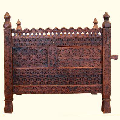 Antique Blanket Chest, c. 1800  Swat Valley -