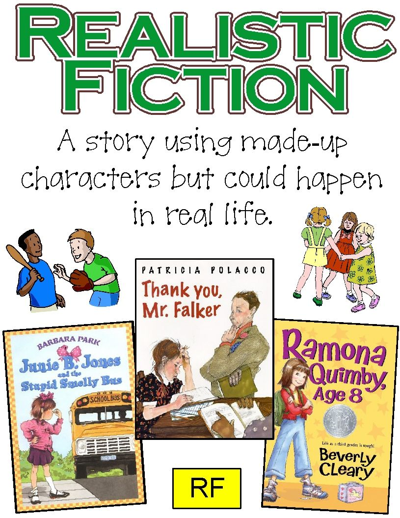 Genre Posters ~ Historical Fiction, Realistic Fiction, Mystery ...
