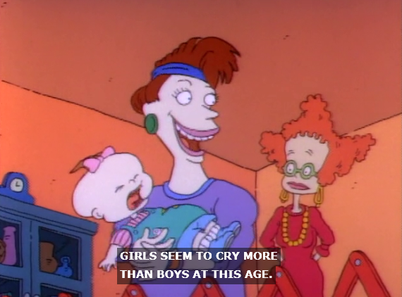 Rugrats female domination