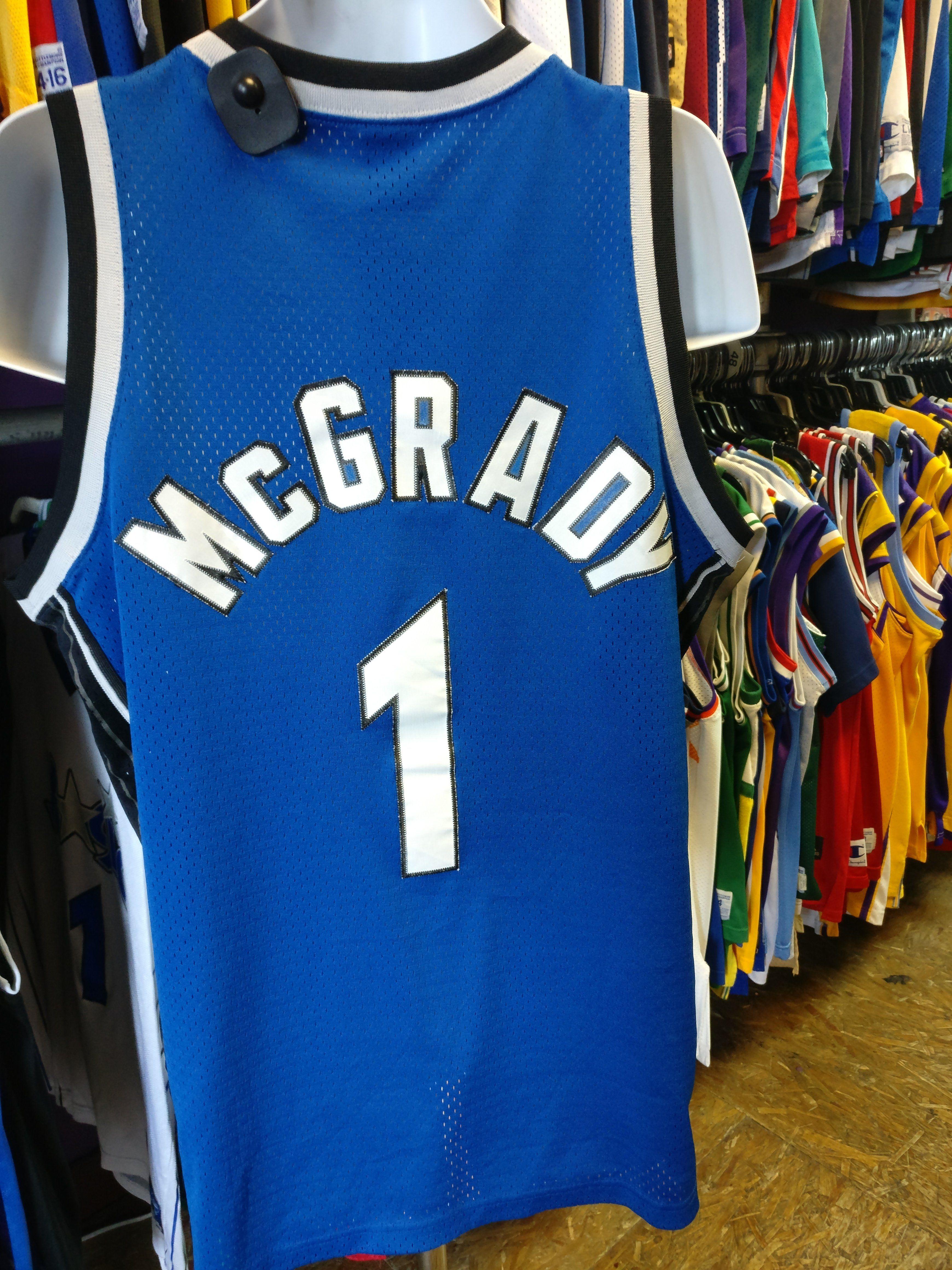 c2f9136fe Vintage  1 TRACY McGRADY Orlando Magic NBA Nike Jersey M