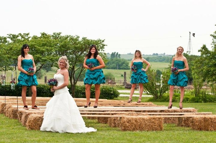 Kansas Outdoor Rustic Wedding | Country weddings, Wedding and Wedding