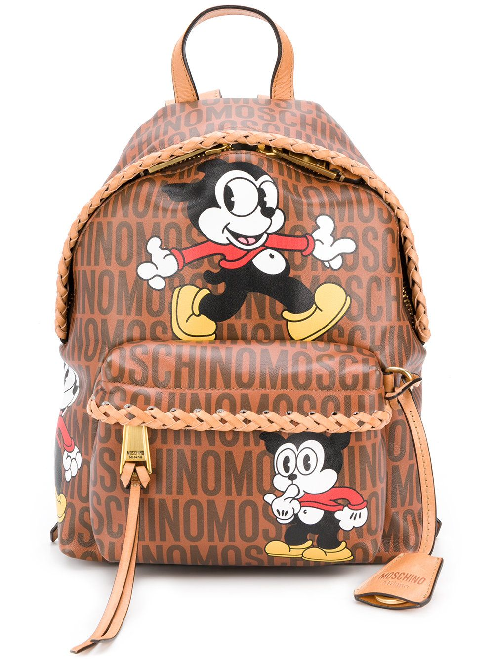 335a003ee383 Moschino Vintage Mickey backpack   O   Mickey backpack, Vintage ...