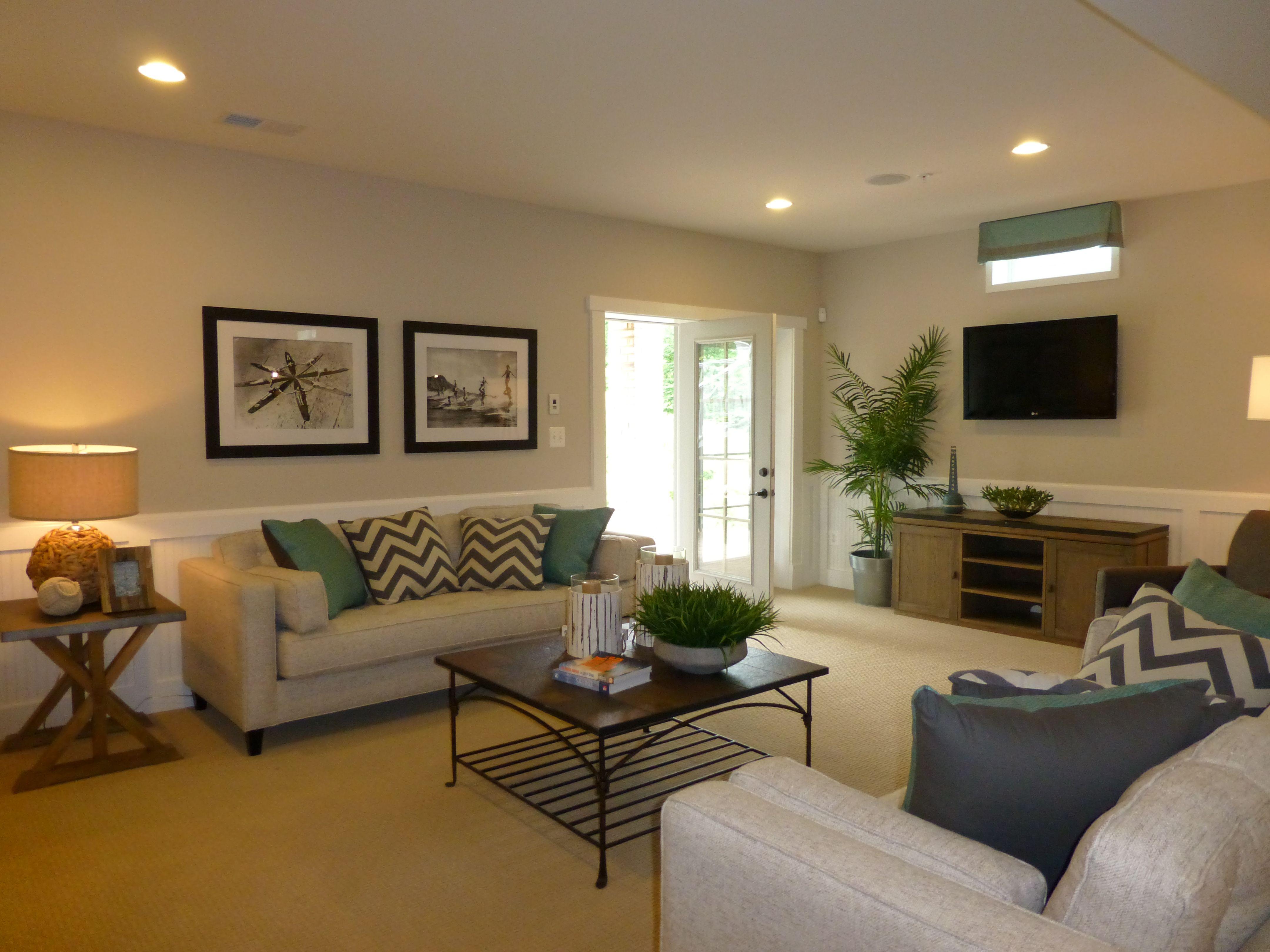 Model home basements