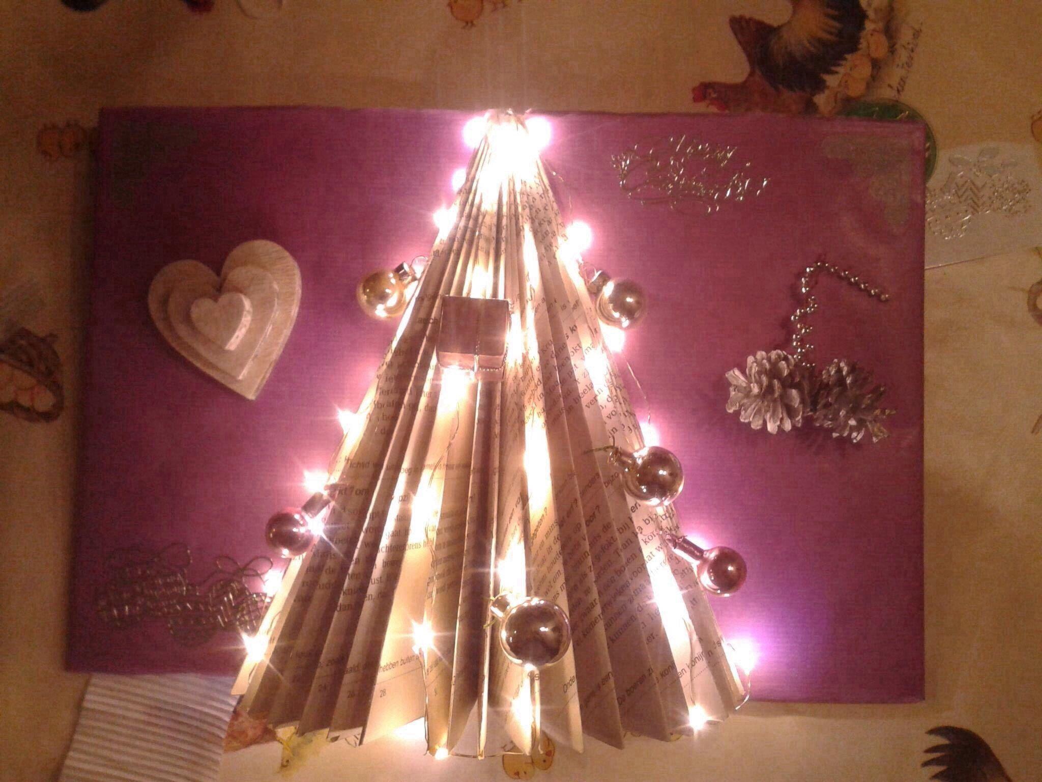 Boek kerstboom