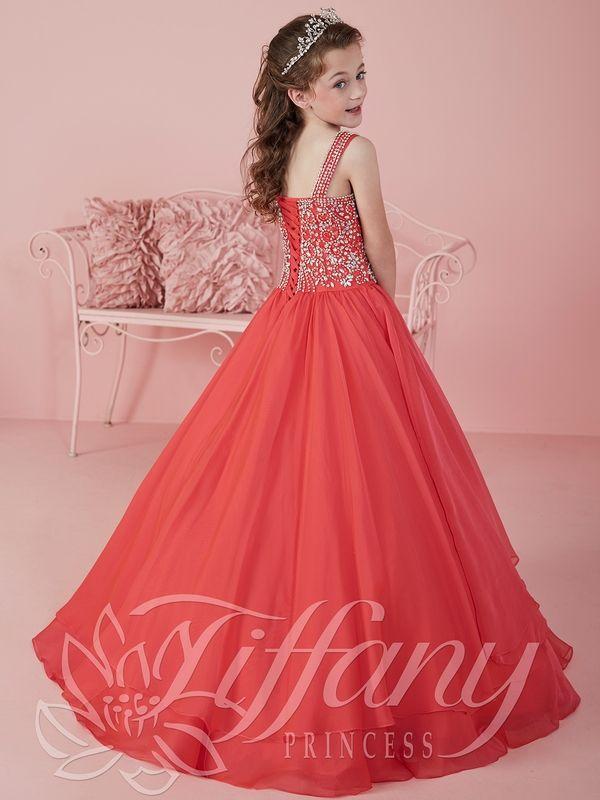 Lujoso Vestido De Fiesta Tiffany Red Modelo - Colección del Vestido ...