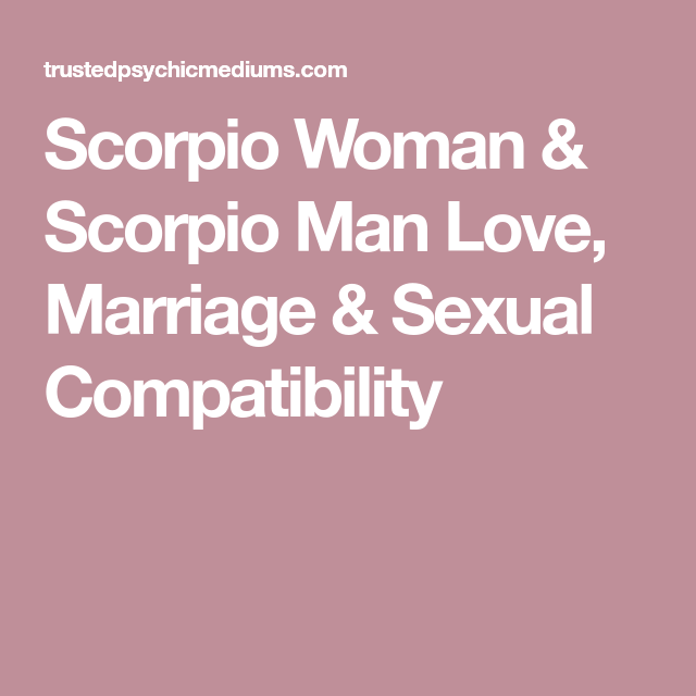 What a Scorpio Man Can Expect