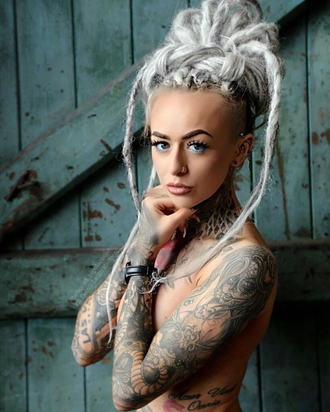 Tattoo Fixers Psychobilly Girl Punk: Tattooed Model Demii Leigh