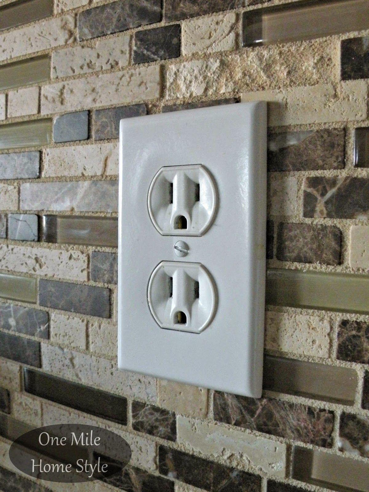 adjusting electrical outlets after tiling electrical outlets electrical wiring diy home repair home [ 1200 x 1600 Pixel ]
