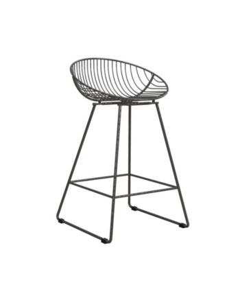 Awesome Cosmoliving Ellis Wire Counter Stool Gray In 2019 Creativecarmelina Interior Chair Design Creativecarmelinacom