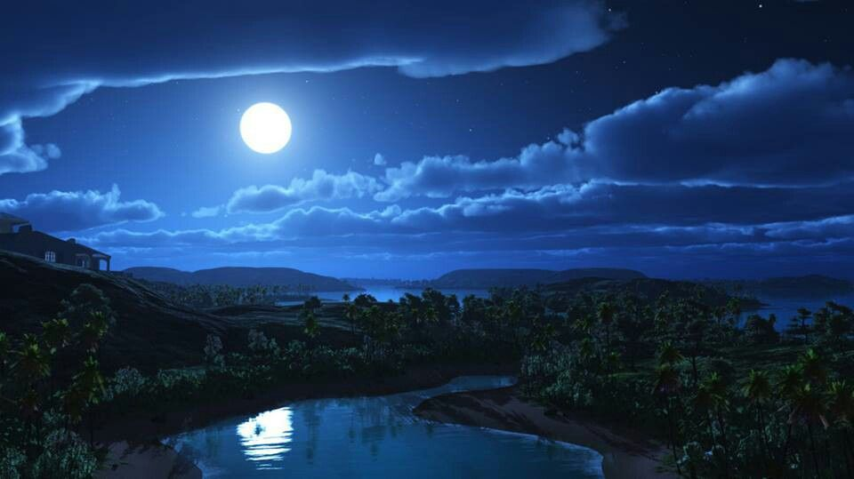 Moonlight The Pull Of The Moon And Tides Pinterest Moonlight