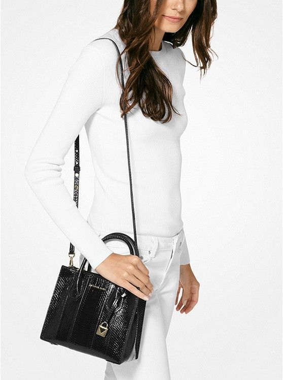 52ea17d1359fe2 Mercer Snakeskin Crossbody_preview2 | xmas | Michael kors crossbody ...