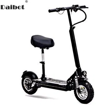 Daibot 10 Inch Powerful Electric Bike 48v Two Wheels Electric