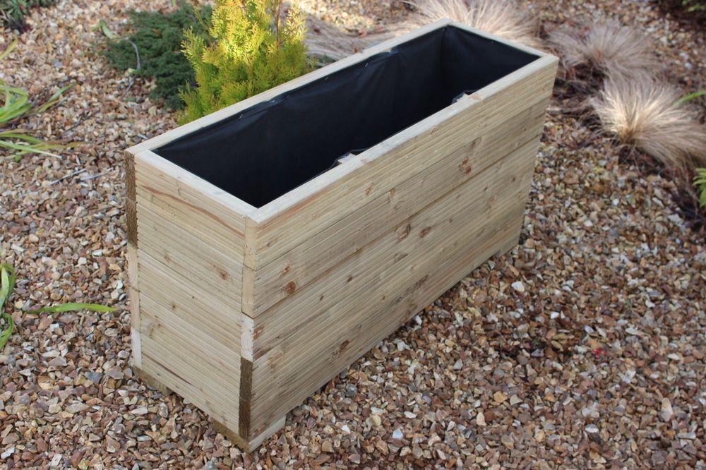 Details About 100X32X53 Cm Extra Tall Wooden Garden 400 x 300