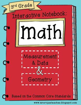 3rd Grade Interactive Math Notebook - Final Edition!!!