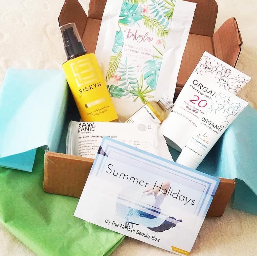 June Edit Summer Holidays By The Natural Beauty Box