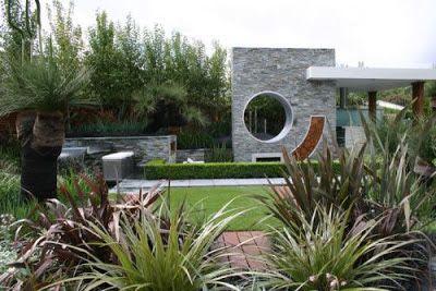 O estilo moderno de jardinagem