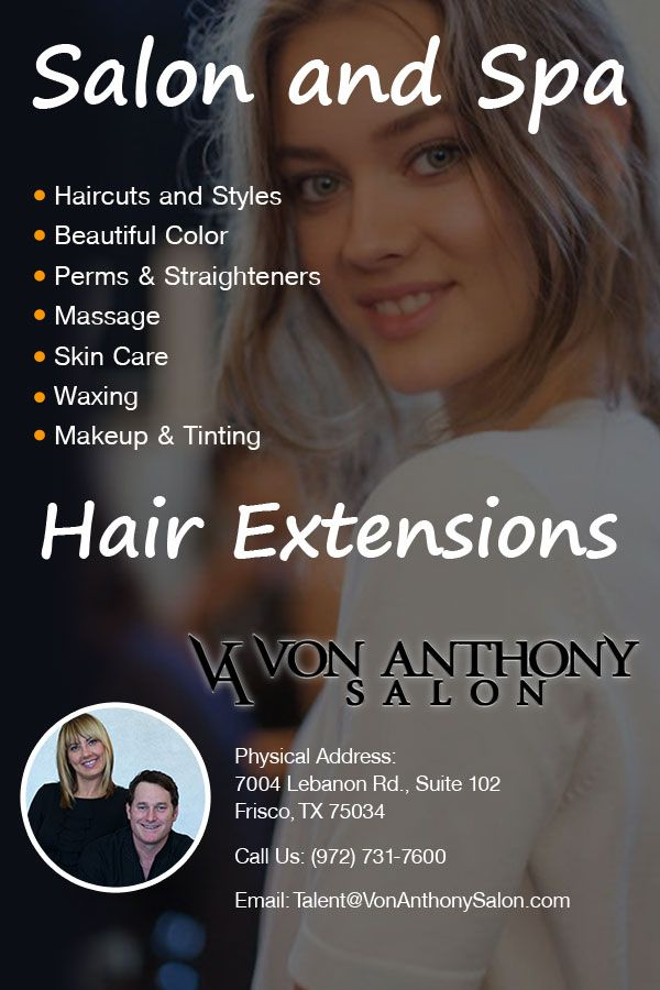 Von Anthony Salon Consider On Hair Extensions Treatment Haircuts