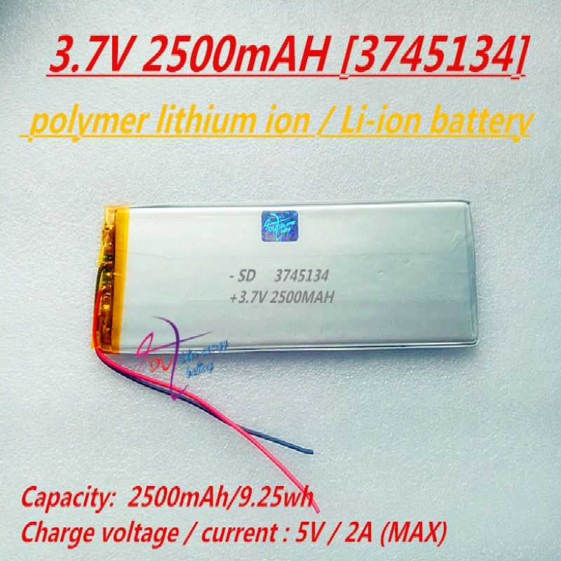 L413 3745134 3 7v 2500mah 3545135 Polymer Lithium Ion Li Ion Battery For Tablet Pc Gps E Book Power Bank Attention V Powerbank E Book Tablet