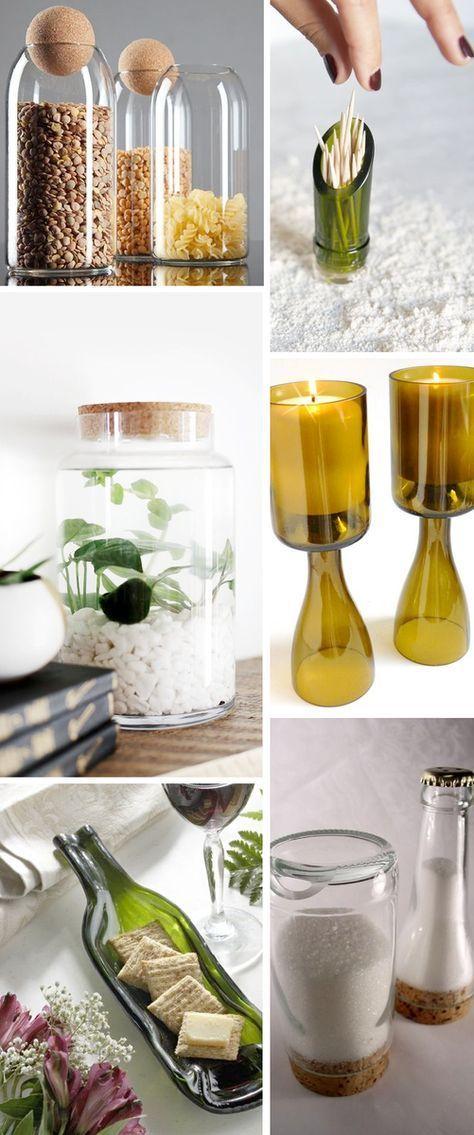 materiales que puedes reutilizar y no imaginas wine. Black Bedroom Furniture Sets. Home Design Ideas
