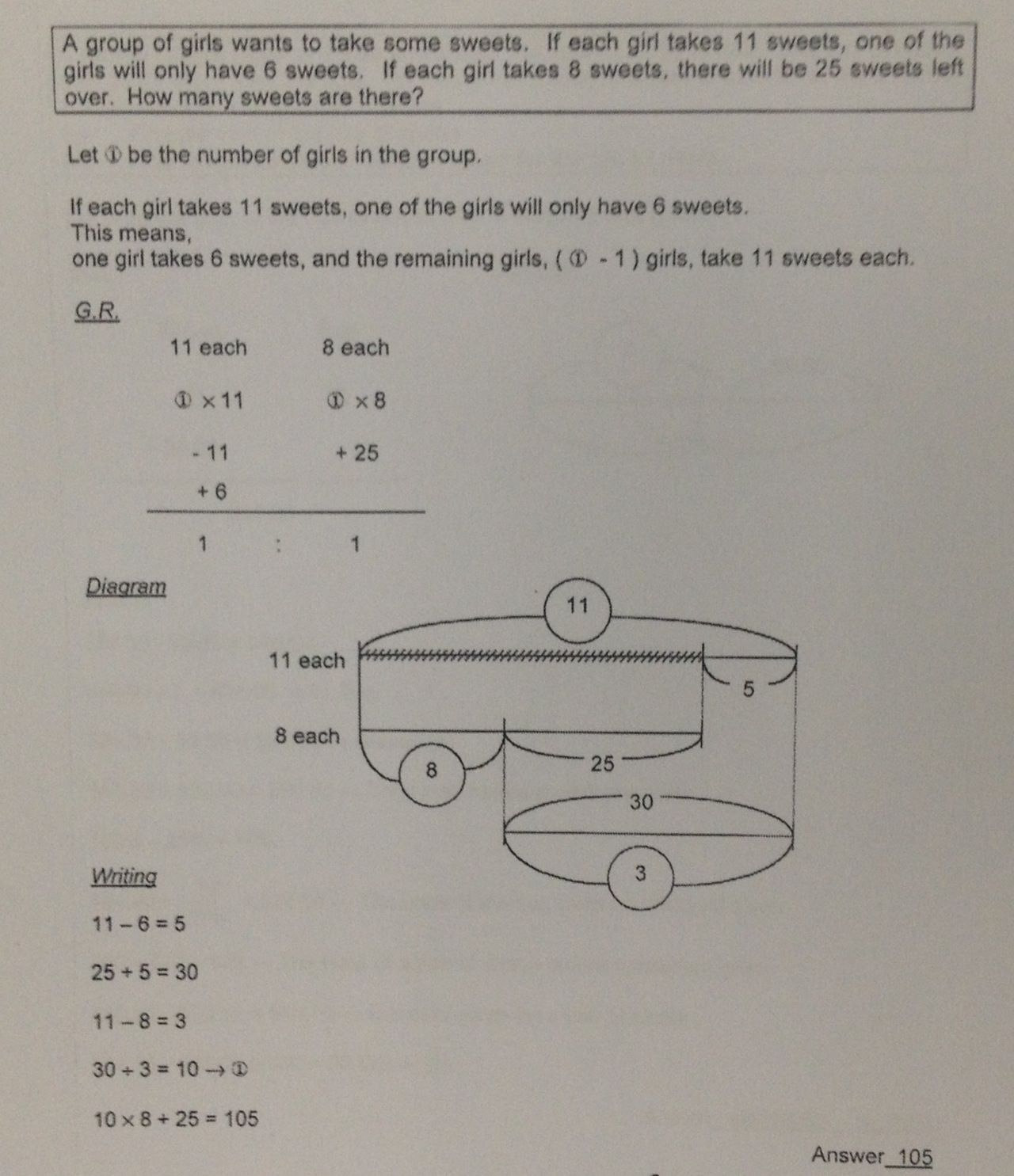 A Grade 4 5 Math Question Solved By The Sakamoto Method It