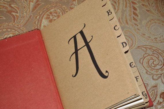 Address Book by Traveling Chariot -  Custom Made to Order Leather by TravelingChariot, $63.00