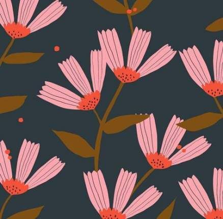 45+  Ideas flowers illustration pattern wallpapers backgrounds #flowerpatterndesign