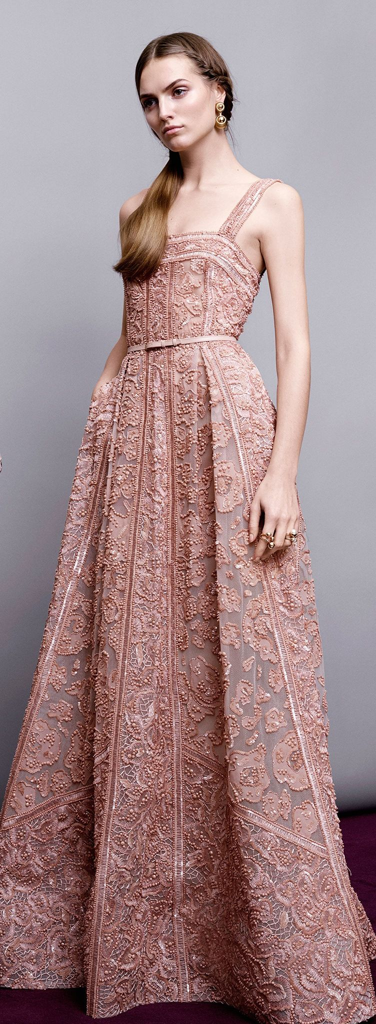 Elie Saab Pre-Fall 2015 | 01. Outfit & Look | Pinterest | Armario de ...