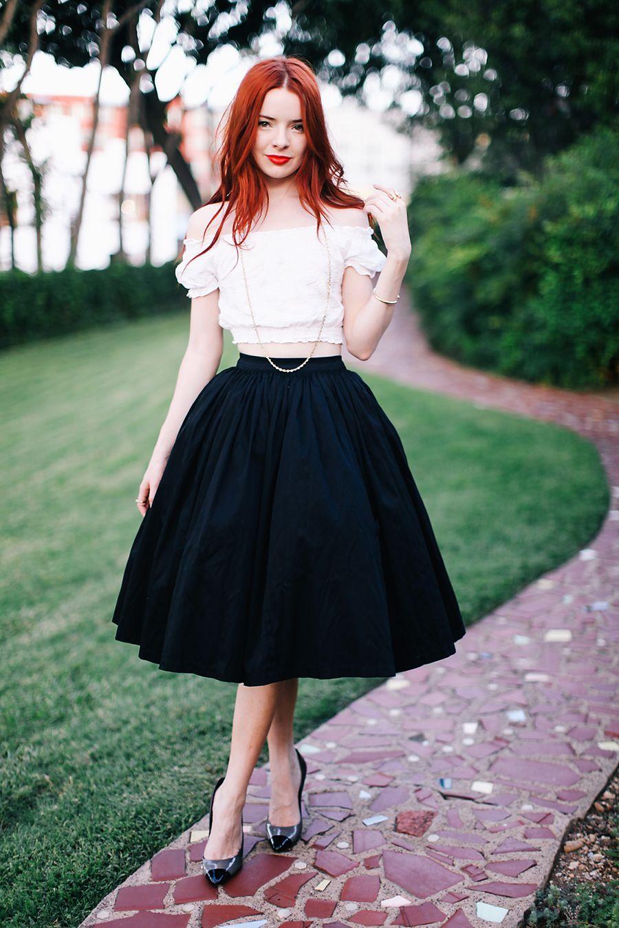 Esa falda es genial !
