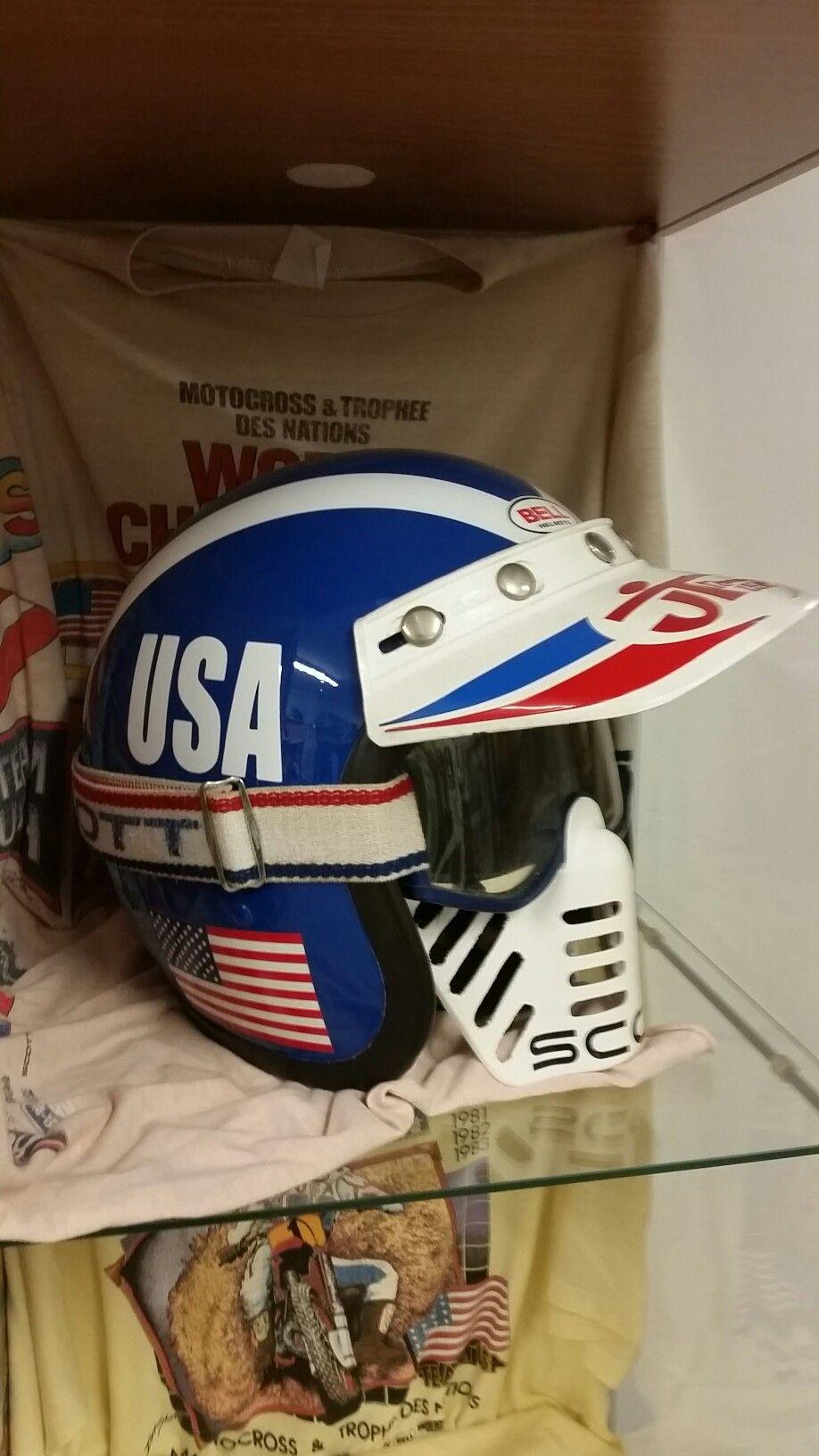 Bell Nations Team Usa Helmet Vintage Helmet Vintage Motocross Cool Motorcycle Helmets