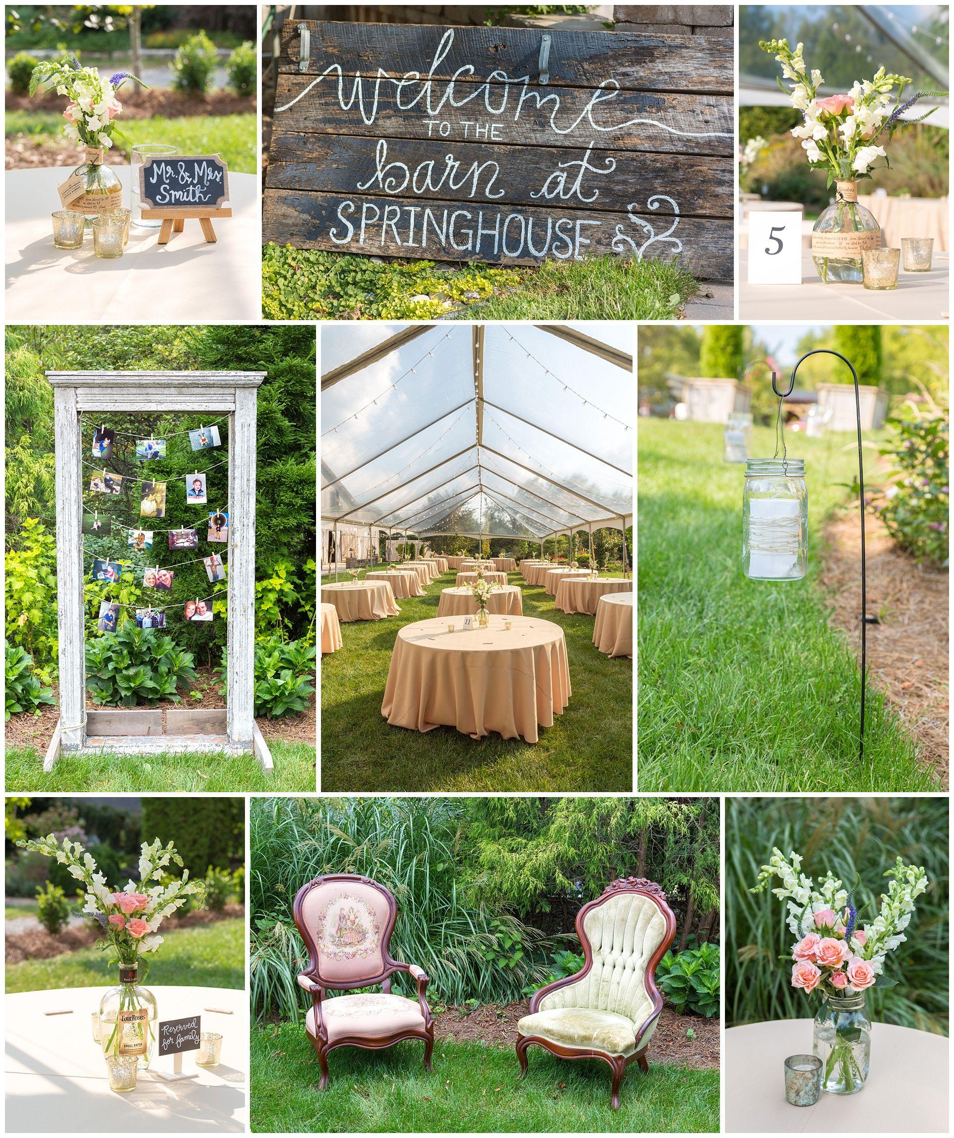Kevin And Anna Photography Wedding Reception Detail Photos At The Barn Springhouse Gardens In Lexington Kentucky Southern