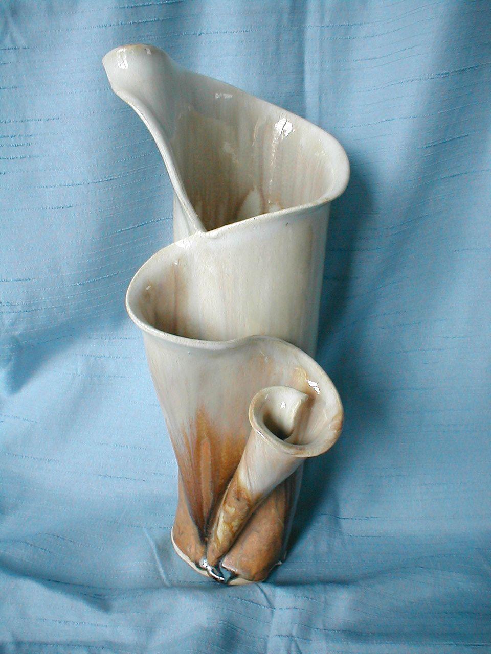 Slab Built Pottery Vase