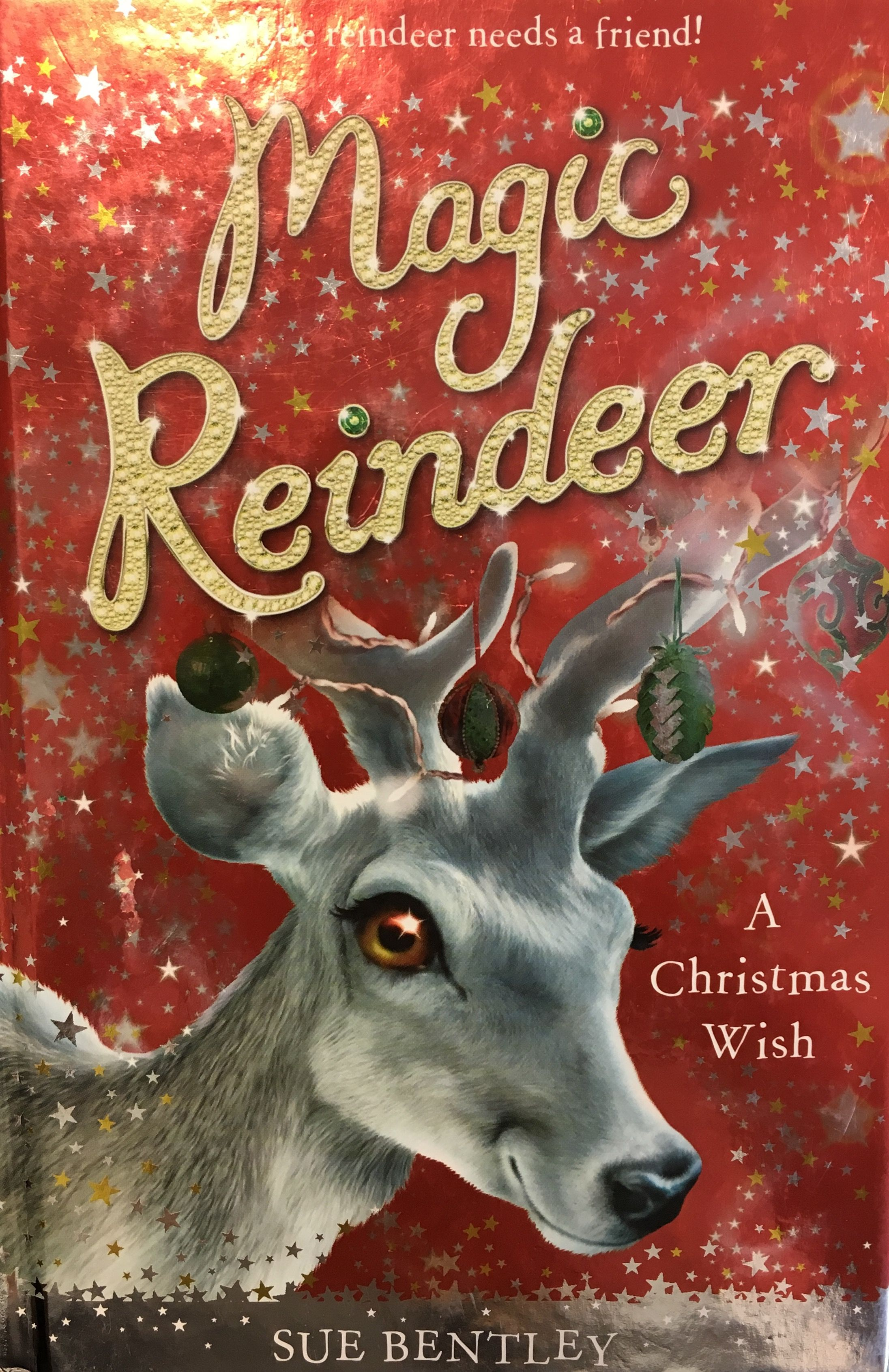 Great Advanced 2nd Grader Or 3rd Grade Chapter Book Good Story Line Great Read During The Winter Break Chapter Books Reindeer Christmas Wishes