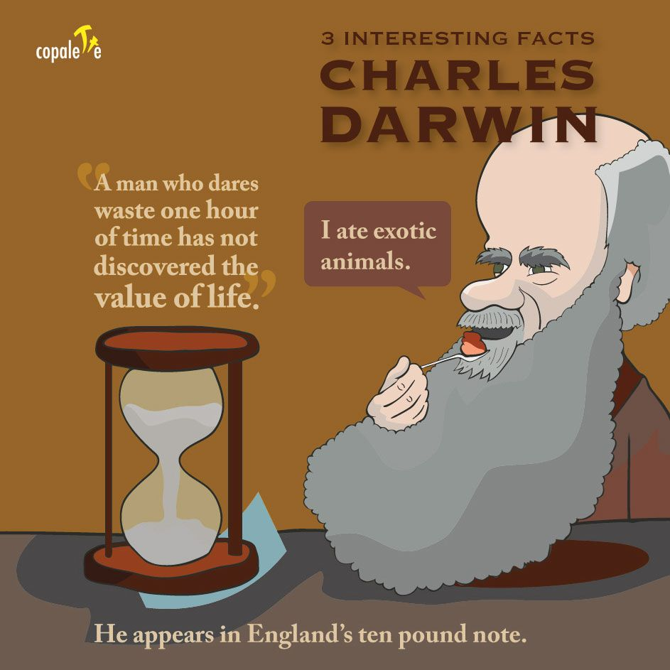 Charles Darwin 3 Interesting Facts For Kids 3 Interesting Facts