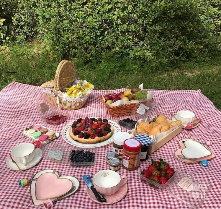 Pin by 🤍 on seasons ♡ | Picnic foods, Picnic date food