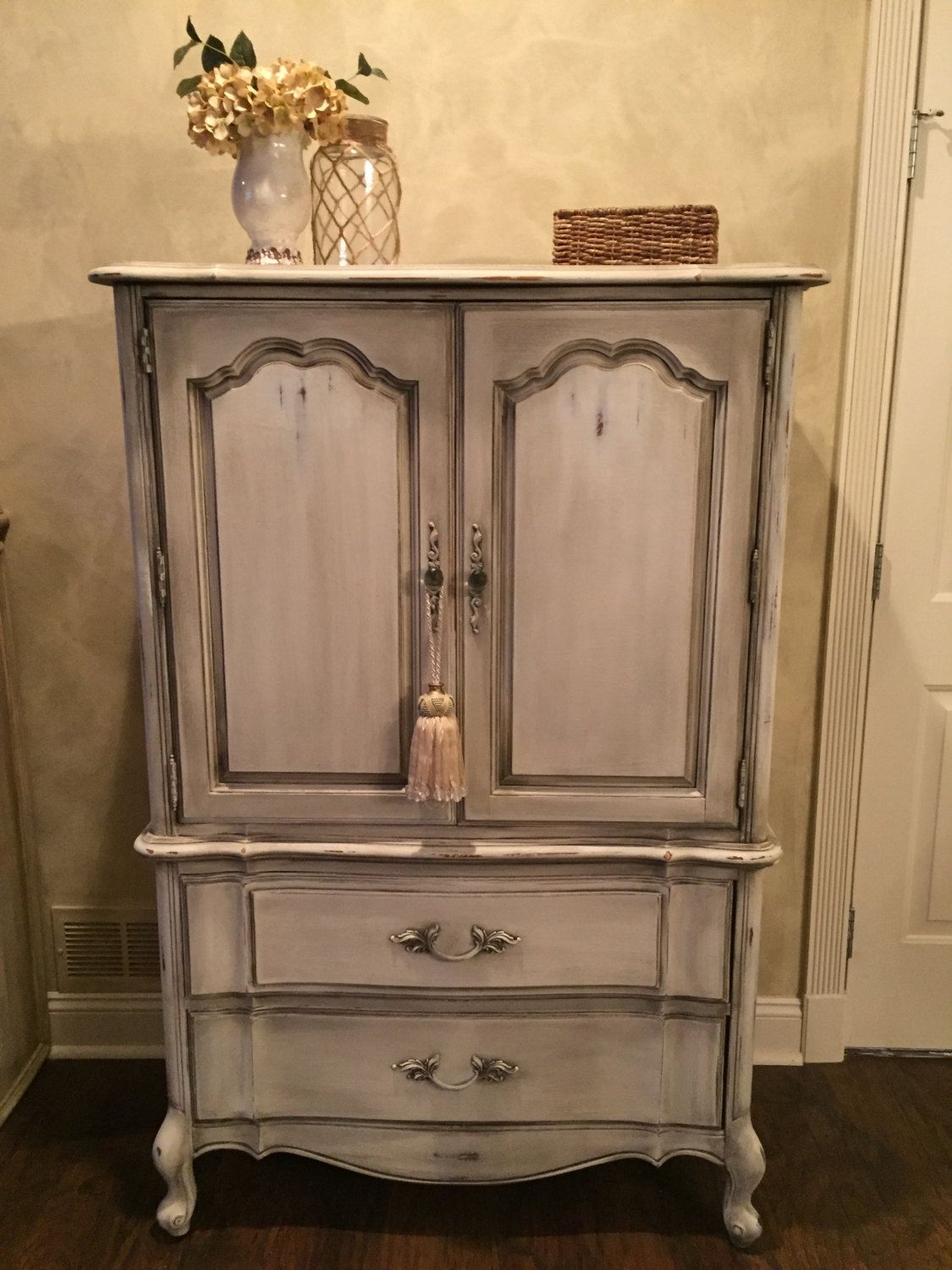 Bar Armoire by KelliesCreationsShop on Etsy