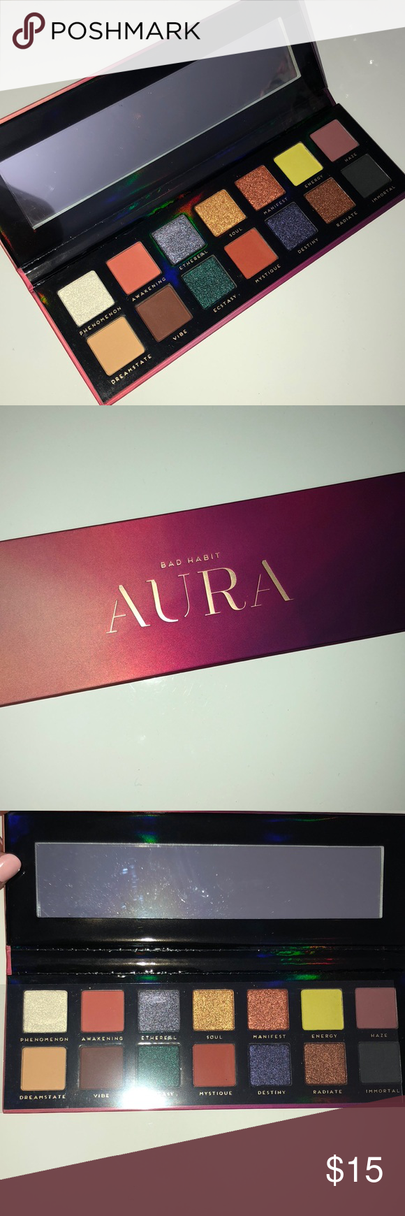 BAD HABIT AURA palette BRAND NEW IN BOX Bad Habit Makeup